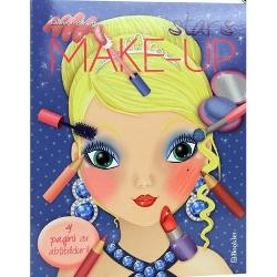 Stars make-up Carte de colorat cu abtibilduri