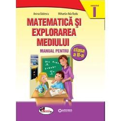 Manualul Matematic&259; si explorarea mediului pentru clasa a II a ofer&259; o abordare a înv&259;&355;&259;rii care îi permite elevului s&259;-&351;i valorifice experien&355;a de via&355;&259; prin rezolvarea de probleme simple Manualul completeaz&259; ceea ce elevul a dobândit în clasa I urm&259;rind construirea concentric&259; a competen&355;elor ciclului de achizi&355;ii fundamentale prin gruparea con&355;inuturilor de matematic&259; &351;i