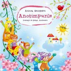 O carte de poezii pentru copii scrise de Aurora Georgescu si ilustrate de Serban Andreescu Un volum plin de culoare adresat celor mici care pot astfel sa cunoasca frumusetea si specificul fiecarui anotimp prin vers culoare si prin joc