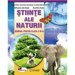 Manual stiintele naturii pentru clasa a III a Radu