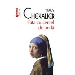 Traducere din limba engleza de Horia Florian Popescu Fata cu cercel de perla 1999 &8222;un fenomen editorial&8221; Publisher&8217;s Weekly care a atins in scurt timp cifra record de un milion de exemplare vindute Pornind de la celebrul portret al lui Vermeer Fata cu cercel de perla Tracy Chevalier construieste un superb roman istoric avindu-l ca personaj central pe cunoscutul pictor olandez Misteriosul tablou &8211; si nu mai putin misteriosul autor &8211; capata viata prin