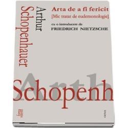 Cele doua texte care formeaza prezentul volum Schopenhauer educator apartinand lui Nietzsche si Arta de a fi fericit lui Schopenhauer sunt realizate intr-o relativa autonomie Apropierea lor inspirata de o structura dialogica implicita este si tipul de organizare pe care l-am gandit pentru colectia Forma mentis punerea impreuna uneori dialectica a doua texte a caror independenta favorizeaza pluralitatea argumentelor Suntem intr-un algoritm de tip paraconsistent unde nu importa