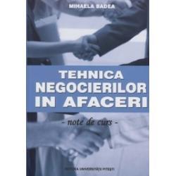Din cuprinsElemente de teoria comunicariiTeoria negocieriiLogistica negocieriiStrategii strategeme tehnici si tactici de negociereComunicarea si negocierea interculturala
