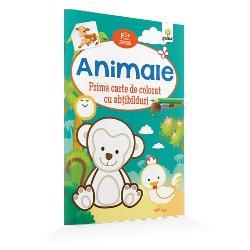 """Cartea de colorat""""Animale""""ajut&259; la înv&259;&539;area animalelor domestice &537;i s&259;lbaticeEste potrivit&259; chiar &537;i pentru copiii cu vârsta de 2 ani care au acum prilejul s&259; exerseze &539;inerea pensulei cariocii sau a creionului &537;i s&259;-&537;i îmbun&259;t&259;&539;easc&259; astfel motricitatea fin&259; Liniile de contur indic&259; în ce nuan&539;&259; poate"""