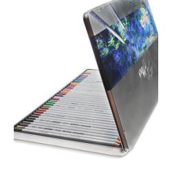 Creioane colorate in caseta de metalSet 36 culori  Diametru grif 32mm Nu sunt recomandate copiilorcu varsta sub 3 ani