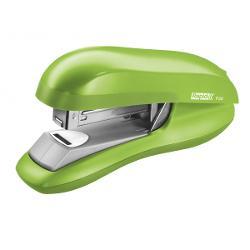 Capsator ergonomic halfstrip cu mecanism din o&539;el dur pentru o capsare precis&259; Echipat cu tehnologia de capsare plat&259; ce reduce volumul documentelor capsate cu pân&259; la 30 Potrivit pentru cas&259; sau birou