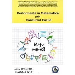 Seria de culegeri aparute sub titlul Performanta in Matematica prin Concursul Euclid se adreseaza tuturor copiilor din ciclul primar si gimnazial cls 0-VIIIPrin aceste culegeri elevii sunt obisnuiti cu toate tipurile de probleme ceea ce se incerca si prin subiectele din cadrul concursului Euclid