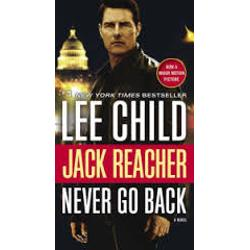 "Never go back—but Jack Reacher does and the past finally catches up with him    Never Go Back is a novel of action-charged suspense starring ""one of the best thriller characters at work today"" Newsweek Former military cop Jack Reacher makes it all the way from"