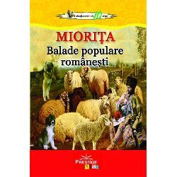 Miorita Balade populare romanesti imagine librarie clb