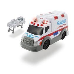 Cineva se afl&259; în situa&355;ie dificil&259; iar acum are nevoie de ajutorul t&259;u Gr&259;be&351;te-te repede la fa&355;a locului cu ambulan&355;a Dickie &351;i salveaz&259; via&355;a pacientului Pune pe targ&259; urc&259; în ambulan&355;&259; porne&351;te sirena &351;i lumina intermitent&259; &351;i transport&259; la spital La sfâr&351;itul turei cur&259;&355;&259; ma&351;ina apoi bucur&259; de odihna binemeritat Ambulan&355;a are