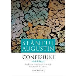 """""""Nu merit&259; osteneala s&259; scrii Confesiuni decât dac&259;-i sunt adresate lui Dumnezeu Recitit câteva pagini din sfântul Augustin Ce patim&259; Povestea convertirii sale Drama noastr&259; tr&259;im într-o epoc&259; în care nu mai avem la ce s&259; ne convertim """" CIORAN""""Augustin este primul care a avut viziunea vastit&259;&355;ii sufletului omenesc &351;i prin ea a necunoscutului din noi"""