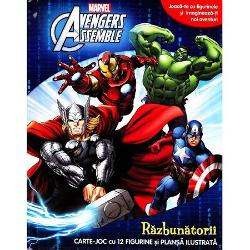 Avengers Assemble Razbunatorii Carte joc cu 12 figurine si plansa ilustrataJoaca-te cu figurinele si imagineaza-ti noi aventuriO poveste captivanta si un joc antrenant intr-o singura carte de activitatiIlustratiile incantatoare cele 12 figurine si plansa ilustrata insufletesc personajele Marvel indragite si stimuleaza imaginatia copilului tau