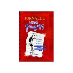 Primul titlu din seriaJurnalul unui pu&351;ti prin care autorul american Jeff Kinney &351;i-a f&259;cut un senza&355;ional debut pe pia&355;a editorial&259; interna&355;ional&259; a r&259;mastimp de 89 de s&259;pt&259;mâni cea mai bine vândut&259; carte din prestigioasa list&259; de literatur&259; pentru copii a celor de la The New York TimesDoar doi autori în afar&259; de Kinney au avut
