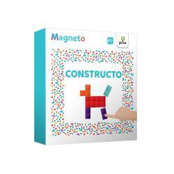 Magneto • Constructocon&539;ine piese magnetice cu ajutorul c&259;rora copilul poate crea zeci de modele dezvoltându-&537;i creativitatea Cartea propune o variant&259; inedit&259; bidimensional&259; a jocurilor de construc&539;ie cu piese mici Rezolvarea puzzle-urilor magnetice contribuie la exersarea gândirii logice la în&539;elegerea rela&539;iilor spa&539;iale &537;i la dezvoltarea abilit&259;&539;ii de a