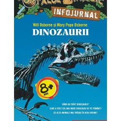 Jack &537;i Annie devin exper&539;i &238;n dinozauriDup&259; aventura din Dinozaurii vin spre sear&259; Jack &537;i Annie au avut multe &238;ntreb&259;ri C&226;nd au tr&259;it dinozaurii Care a fost cel mai mare dinozaur de pe P&259;m&226;nt Ce alte animale mai tr&259;iau &238;n acea vreme Au r&259;sfoit enciclopedii &351;i atlase zoologice au consultat pagini de Internet &537;i au