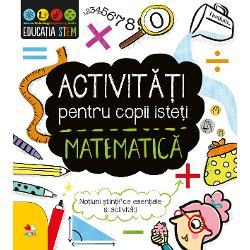 Matematica este fundamentul &537;tiin&539;ei al ingineriei &537;i tehnologiei Citind explica&539;iile simple &537;i rezolv&226;nd activit&259;&539;ile captivante de pe fiecare pagin&259;micii matematicieni vor afla mai multe despre domeniul ei de studiu Prin abordarea clar&259; &537;i atr&259;g&259;toare a unor subiecte serioase aceast&259; carte STEM dezvolt&259; pasiunea pentru &537;tiin&539;ele exacte &537;i capacitatea copiilor de a rezolva probleme
