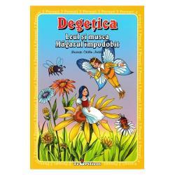 3 povesti Degetica Leul si musca Magarul impodobitCartea cuprinde cele trei povesti insotite de ilustratiile lui Catalin Nedelcu
