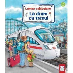 Primele cuno&351;tin&355;e pentru pasagerii mici &351;i mariCartea ilustrat&259; pentru copiiiLa drum cu trenulavând coper&355;ile &351;i paginile de interior cartonate se adreseaz&259; copiilor de peste 2 aniC&259;l&259;toria cu trenul este o experien&539;&259; deosebit&259; pentru orice copil Cu care tren plec&259;m Încotro merge trenul Oare ce face un conductor de tren Scurtele pove&537;ti &537;i informa&539;iile
