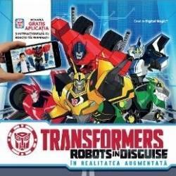 Bun venit in Crown City cea mai noua arena a infruntarii dintre Autoboti si DecepticoniFa cunostinta cu Bumblebee si membrii noii lui echipe sositi pe Pamant ca sa-i prinda pe decepticonii evadati de pe o nava-inchisoareAfla totul despre robotii tai preferati din acest ghid interactivScaneaza simbolurile si pe dispozitivul tau mobil vei vedea personajele transformers asa cum nu le-ai vazut niciodata9 animatii interactive in realitatea augumentataPune-i pe Autoboti si pe Decepticoni