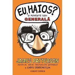 EU HAIOS este   asa cum spune si titlul -  o poveste din GENERALa&8218;James Paterson marele scriitor american si autor al seriei bestseller GENERALA a gandit  o noua&131; poveste cuceritoare un roman-satelit al seriei GENERALA  publicat intre volumul 2 si volumul 3 al seriei avandu-l ca erou de data aceasta nu pe Rafe ci pe ultrasimpaticul Jamie Grimm un ba&131;ietel cu un extraordinar simt al umoruluiDesi viata nu i-a adus bucurii ci dimpotriva&131; doar necazuri Jamie