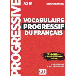 Vocabulaire Progressif Du Franais - Niveau Intermdiaire - 3me dition - Livre + Cd + Appli-Web