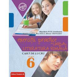 Avizat MEN conform OM nr 30228012018Aceast&259; nou&259; edi&355;ie a lucr&259;rii complet modificat&259; pliat&259; perfect pe nout&259;&355;ile din curriculum pentru clasa a VI-a noile planuri&8209;cadru noua program&259; &537;i noile manuale contribuie substan&355;ial la formarea de competen&355;e reale privind disciplina limba &537;i literatura rom&226;n&259; fiind de fapt o variant&259; prietenoas&259; &537;i atractiv&259; util&259;