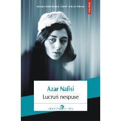 Autoarea bestselleruluiCitindLolitaîn TeheranLucruri nespuseeste în acela&351;i timp o carte de memorii &351;i cronica impresionant&259; a unei familii care se întinde de-a lungul unei lungi perioade de schimb&259;ri ce au dus la Revolu&355;ia Islamic&259; din 1978-1979 cînd Iranulse transform&259; într-o dictatur&259; religioas&259; Scriitoarea ne poveste&351;te cu o