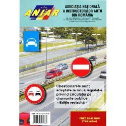 Chestionare pentru obtinerea permisului de conducere auto Categoria B 2017 - Contine explicatii ale raspunsurilor corecteChestionarele sunt adaptate la noua legislatie privind circulatia pe drumurile publice