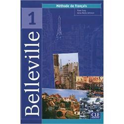 Livre de lélèveLe niveau 1 de la nouvelle méthodeBelleville spécialement conçue pour les jeunes de 15-18 ans vise une compétence de communication dans les situatuions de la vie couranteBellevillevise l'acquisition d'une compétence de communication dans les situations de la vie courante Elle prépare au DELF Scolaire 1 et