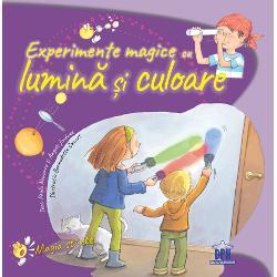Experimentele din aceast&259; carte explic&259; ce este lumina &537;i din ce este compus&259; calea parcurs&259; de lumin&259; pentru a ajunge la ochii no&537;tri fenomenul de refrac&539;ie ce este iluzia optic&259; &537;i cum se creeaz&259; cum se formeaz&259; culorile &537;i modul în care lumina soarelui afecteaz&259; vie&539;ile noastre  Specifica&539;ii Pagini 36 M&259;rimispan stylefont-familyarial;