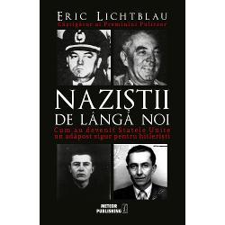 Dupa al Doilea Razboi Mondial mii de nazisti – de la gardieni din lagarele de concentrare pana la ofiteri superiori ai celui de-al Treilea Reich – au sosit in SUA si au inceput discret o noua viata Unii au beneficiat de ajutor si protectie chiar din partea statului american CIA FBI si armata au pus la treaba fosti hitleristi angajandu-i ca spioni informatori dar si ca savanti si ingineri curatindu-le trecutul de pete