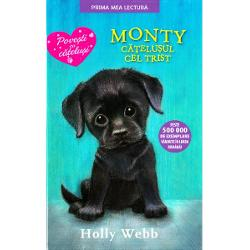 Amelie adora cainii dar nu si-a inchipuit vreodata ca o sa aiba doi Monty micutul ei