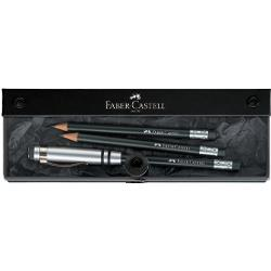 Set Cadou Faber-Castell Perfect Pencil Negru 118351 imagine librarie clb