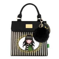 Gorjuss Geanta de umar - The ScarfStilata si sofisticata aceasta geanta este un acesoriu pretios si modul perfect pentru a-ti tine bunurileDimensiuni aproximative 24cm x 23cm x 10cm