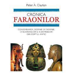 Cronica faraonilor este prima carte care ne prezint&259; &238;n form&259; narativ&259;&160;utiliz&226;nd reprezent&259;ri grafice &351;i alte asemenea ajutoare vizuale to&355;i&160;conduc&259;torii &351;i dinastiile Egiptului &238;n ordine cronologic&259; Portretele&160;biografice ale fiec&259;rui faraon sunt &238;nglobate &238;ntr-o istorie exhaustiv&259;&160;&351;i extrem de u&351;or de citit a Egiptului antic adus&259; la via&355;&259; prin&160;realiz&259;rile