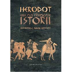 Istoriilelui Herodot sunt o întâlnire cu originile culturii noastre cu geneza unor concepte ca polis politic&259; sau democra&355;ie Putem contempla destinul exemplar al unui popor mic care de&351;i dezbinat va înfrânge cel mai puternic imperiu dar care devenit bogat &351;i puternic va cunoa&351;te dezastrul unui r&259;zboi fratricid Cititorul de azi va putea gusta exotismul Orientului eternul mister al Egiptului &351;i nemuritoarea