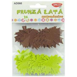 24 bucati frunze pasla;dimensiuni aprox 5 cm