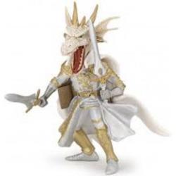 Figurina Papo - Cavaler mutant dragon albJucarie educationala realizata manual excelent pictata si poate fi colectionata de catre copii sau adaugata la seturile de joaca cum ar fi dragoni mutant etcUn excelent stimulent pentru a extinde imaginatia copiilor dezvoltand multe oportunitati de joacap stylecolor