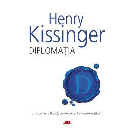Oscilând între o prezentare general&259; &351;i una detaliat&259; a negocierilor pe care le-a avut cu liderii din întreaga lume Henry Kissinger descrie modul în care arta diploma&355;iei a creat lumea în care tr&259;im &351;i m&259;sura în care politica extern&259; a Americii a fost total diferit&259; de cea a altor na&355;iuniDiplomatia o carte stralucit&259; controversat&259; &351;i foarte incisiv&259; reprezint&259;