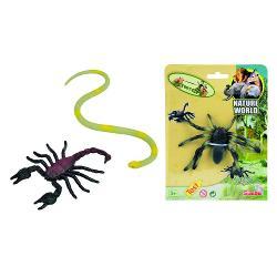 Mini Stretch Animals, 3-ass. 104375517 imagine librarie clb