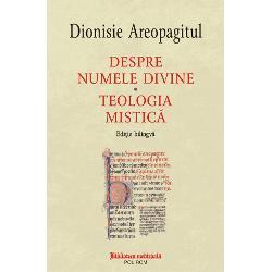 Acest volum propune o nou&259; traducere a dou&259; tratate din corpusul areopagitic atribuit în mod tradi&355;ional discipolului convertit de apostolul Pavel în Areopag dar pe care exegeza modern&259; îl situeaz&259; dup&259; Conciliul de la Calcedon Despre numele divine este un text fundamental pentru în&355;elegerea rela&355;iei dintre istoria filozofiei grece&351;ti tîrzii &351;i tradi&355;ia teologiei cre&351;tine El îmbin&259;