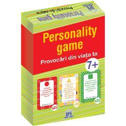 Provoc&259;ri din via&539;a ta 7 ani  2-4 juc&259;tori Scopul jocului este s&259; ajungi primul la c&259;su&539;a de final pentru a fi câ&537;tig&259;tor Jocul con&539;ine o tabl&259; de joc un zar 4 pioni colora&539;i &537;i 3 seturi de cartona&537;e 95 de buc&259;&539;i cu activit&259;&539;i care te vor ajuta s&259; înaintezi mai rapid dac&259; rezolvi sarcinile scrise pe ele Conf Dr Georgeta Pâni&537;oar&259; cadru