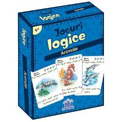 5 ani2-4 juc&259;tori Un joc superdistractiv - Unde tr&259;ie&537;te fiecare Un joc antrenant cu informa&539;ii despre locul de via&539;&259; al diferitelor animale - Dezvolt&259; concentrarea &537;i aten&539;ia la detalii  Specifica&539;ii Pagini 48 jetoane M&259;rimi Cutie - 9 x 125 cm Jetoane - 58 x 88 cm Copert&259; Cutie