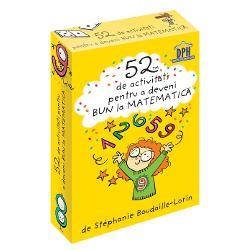 52 de jetoane de buzunar pentru copiii între 6 &537;i 10 ani Mul&539;umit&259; acestor jetoane copilul dumneavoastr&259; va deveni imbatabil la Matematic&259; Adunarea sc&259;derea înmul&539;irea împar&539;irea &537;i procentele nu î&537;i vor mai putea p&259;stra secretele  Specifica&539;ii Pagini 52 jetoane M&259;rimi 56 x 86cm Copert&259; Cutie