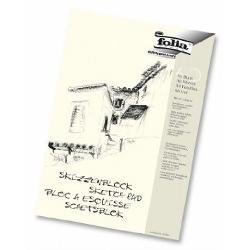 Blocul de desen schite Folia contine 50coli cu greutate de 120gFormat A4