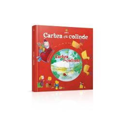 """""""Cartea cu colinde &537;i CD""""vine s&259; completeze atmosfera feeric&259; a s&259;rb&259;torilor de Cr&259;ciun &537;i reprezint&259; reprezint&259; cadoul perfect pentru copiii de toate vârsteleCele 18 colinde &537;i ur&259;turi de pe CD sunt înso&539;ite pe fiecare pagin&259; de ilustra&539;ii  care vor atrage aten&539;ia micu&539;ilor iar CD-ul îi va ajuta s&259; prind&259; u&537;or ritmul unor"""