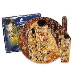 Platou paleta rotund Klimt Kiss 27cm 1988071