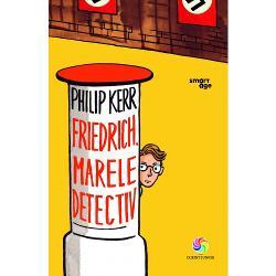 Friedrich viseaz&259; s&259; devin&259; detectiv Are toate datele cultur&259; general&259; spirit de observa&539;ie o minte ascu&539;it&259; &537;i p&259;trunz&259;toare Are &537;i un model pe eroul celebrei c&259;r&539;i scrise de Erich Kästner Emil &537;i detectivii Doar vremurile nu sunt potrivite în Germania tocmai venise la putere Hitler însp&259;imântându-i pe unii dintre germani &537;i sucindu-le min&539;ile altora Când