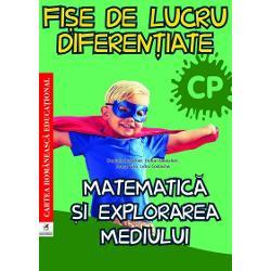 Culegerea de Fi&537;e de lucru diferen&539;iate pentru clasa preg&259;titoare la Matematic&259; &537;i explorarea mediului  este o NOUTATE METODIC&258; &536;I EDITORIAL&258; propun&226;nd  organizarea  activit&259;&539;ilor  de &238;nv&259;&539;are pentru fiecare lec&539;ie din planificarea calendaristic&259; prin intermediul fi&537;elor de lucru &537;i verificarea cuno&537;tin&539;elor asimilate prin teste de evaluare &537;i autoevaluareFiecare fi&537;&259; de lucru