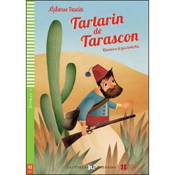 Tartarin est le h&233;ros de Tarascon Ce personnage pittoresque r&234;ve de voyages et d&146;aventures   Jeux et activit&233;s  Enregistrement de l&146;histoire  Vocabulaire illustr&233;Th&232;mes  Voyages  Aventure Tartarin de Tarascon est le roi de la chasse &224; la casquette mais il r&234;ve de partir &224; la chasse au lion Un jour l&146;occasion se pr&233;sente et il part pour l&146;Afrique o&249; il va vivre des aventures tr&232;s amusantes